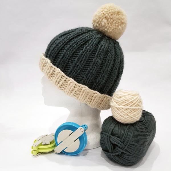 28f3ddd828b NEW Bobble Hat Knitting Kit - Woolly Chic Designs