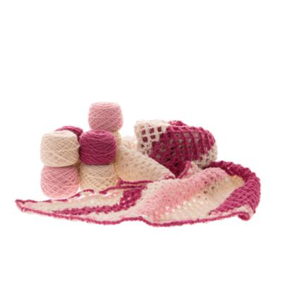 British Wool Shawl Knitting Kit