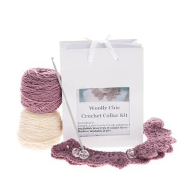 Crochet Collar Kit