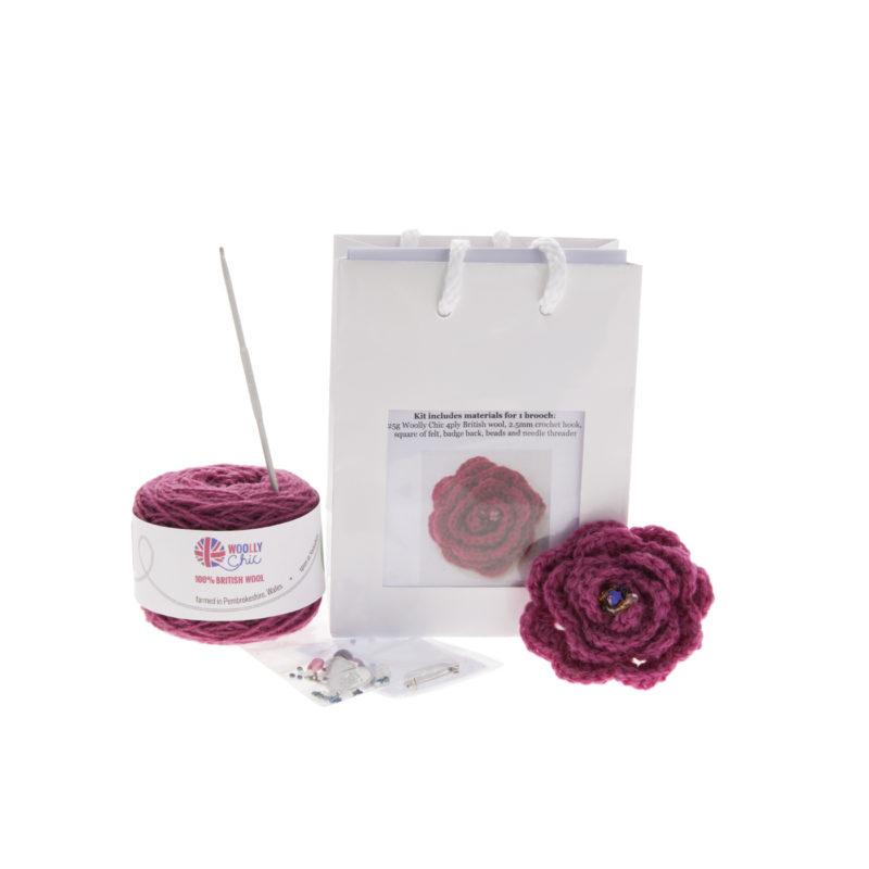 Crochet-Flower-Brooch-Kit