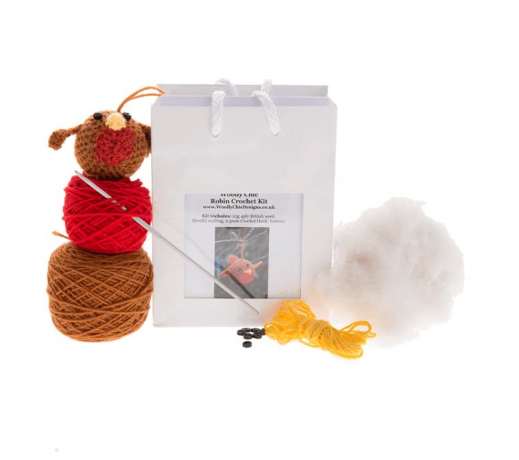 Crochet-Robin-Kit
