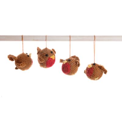 Crochet-Robins