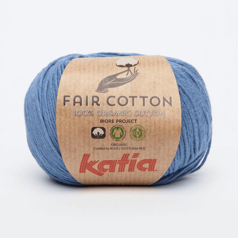 Woolly Chic Stocks Katia Fair Cotton A Fairtrade Organic